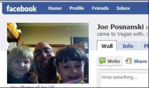 joe, my facebook friend