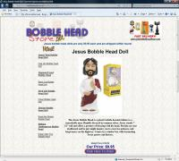 Jesus Bobble Head