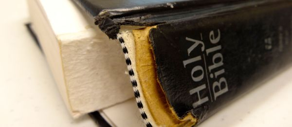 broken binding bible