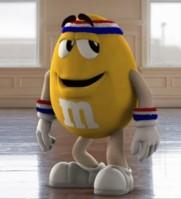 Yellow M&M