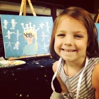 Phoebe the artist