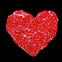 Love Your Neighbor heart logo