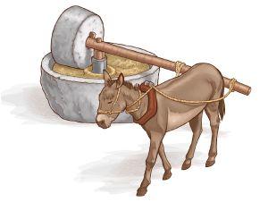 millstone donkey