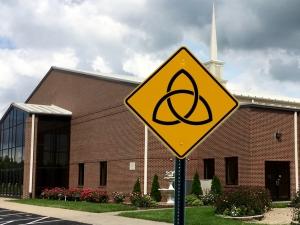 Trinity Warning Sign Chandler Church