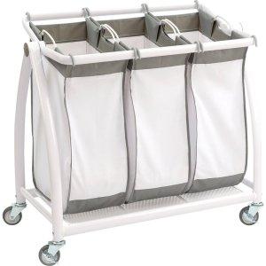 3+Bag+Tilt+Laundry+Sorter